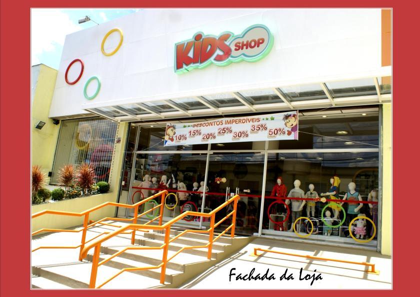 Fachada da Loja Shop Kids